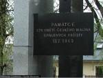 památník obětí Malín