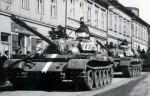 Polské tanky okupují Bruntál