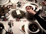 polský vánoční stůl