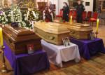 pohřeb obětí autonehody způsobené opilým řidičem v Polsku