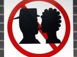 zákaz líbání - symbol