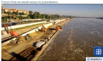 hladina Visly stoupá - foto zdroj gazeta tv