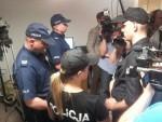 Policie v redakci wprost