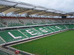Wikimedia Commons Eastern stand of the renovated Polish Army Stadium (Stadion Wojska Polskiego) in Warsaw Poland Author Darwinek