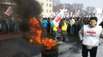 stávka polských horníků