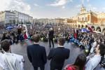 JKM - volební shromáždí Krakov