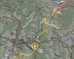 mapa dálnice