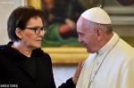 REUTERS848354_Articolo Kopaczová  a Papež