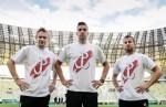 polští fotbalisté sa znakem Polski walczącej