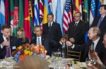 Duda, Obama, Putin