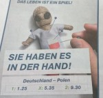 reklama německého bookmakera
