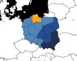 Vojvodství mapa