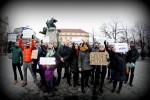 Demonstarce KOD v Praze foto z fac Maja Wesoloeska