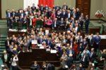 protesty v Sejmu